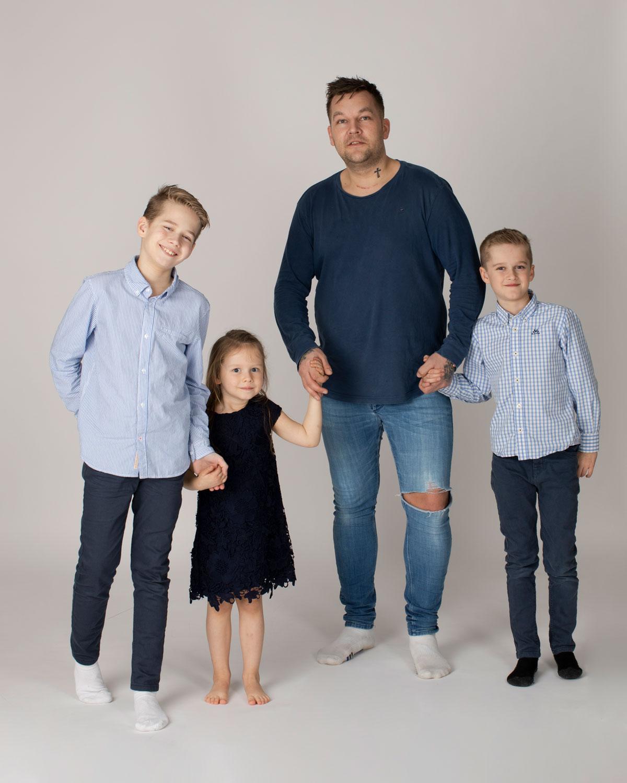 Familiefotografering i Stavanger