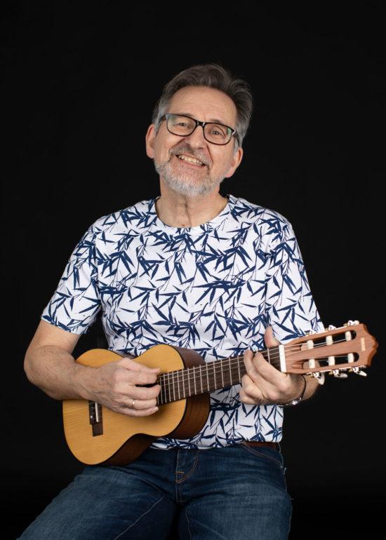 Portrett musiker Halvdan