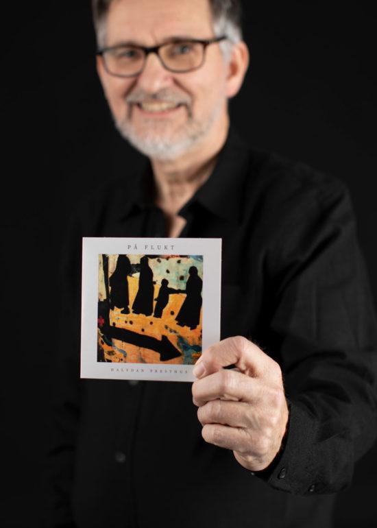 Portrett musiker Halvdan, ny singel - På flukt